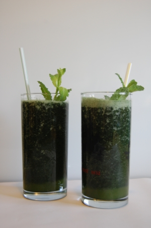 Spirulina Rezept - Papaya Mango Smoothie