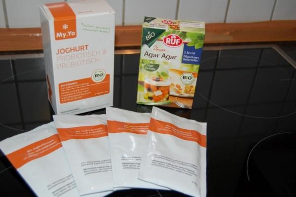 Joghurtferment und Agar-Agar