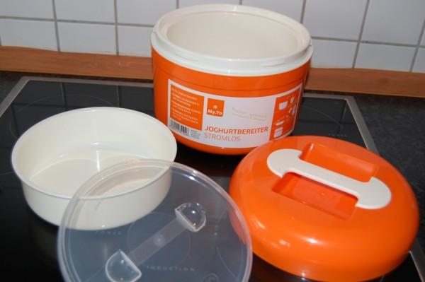 My.Yo stromloser Joghurtbereiter in Mandarine