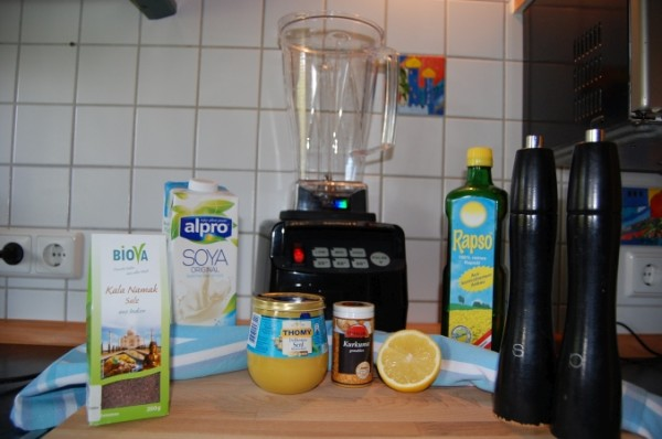 Vegane Mayonnaise selber machen mit dem Omniblend V