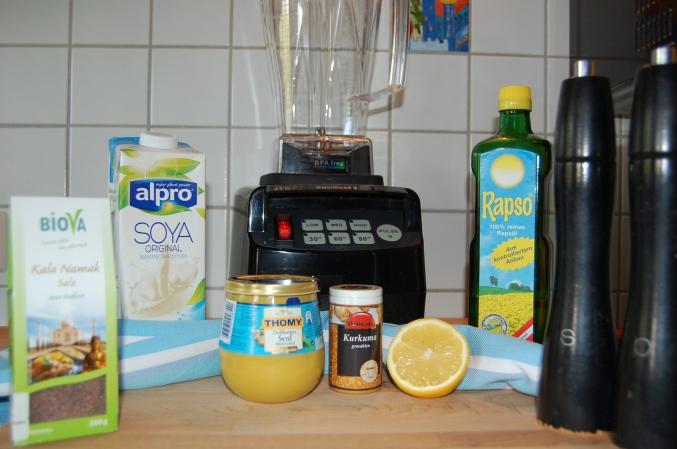 Der Omniblend V macht veganen Frischkäse, Mayonnaise und Aioli