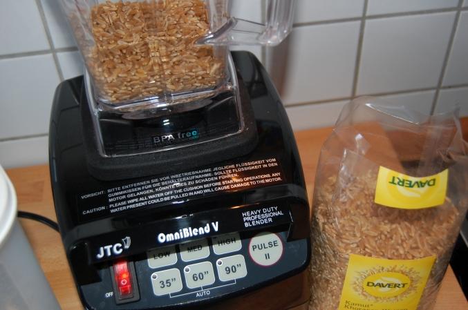 Davert Kamut Weizen Getreide selber mahlen