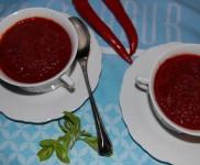 8. Wir bereiten eine Rote Bete Suppe im Mixer zu
