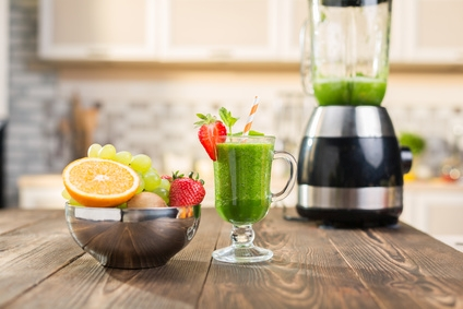 gruene smoothies aus dem blender