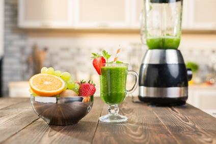 grüne smoothies aus dem blender
