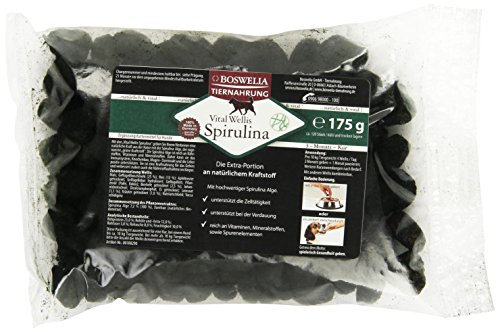 Boswelia Vital Wellis Hund Spirulina 350 g (2x175g) / circa 240 Stück, 1er Pack -