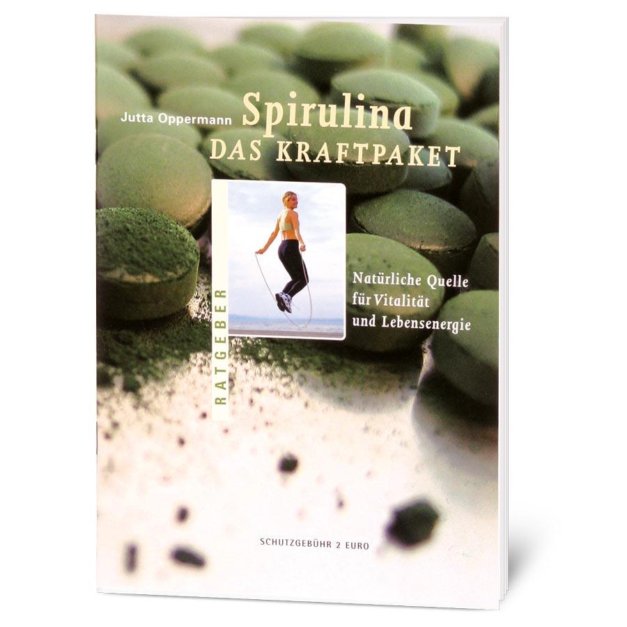Broschüre Spirulina – Das Kraftpaket, 28 Seiten