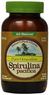 Nutrex Hawaii Hawaiian Spirulina Pacifica 1000 Mgs., 180-Tablet Bottle -
