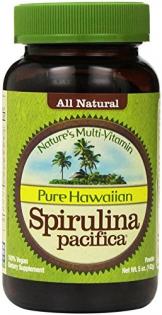 Nutrex Reine Hawaiian Spirulina Pacifica - Natur Multivitamin - 141g Pulver -