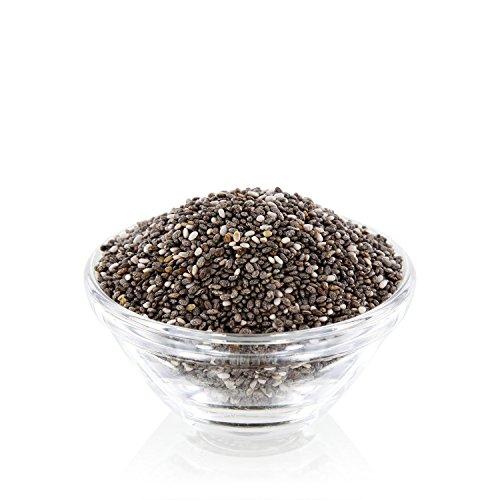Premium Chia Samen (Salvia hispanica) 1 kg Beutel ohne Zusätze, in Deutschland geprüfte Qualität -
