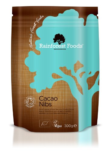 Rainforest Foods Kakaonibs, 1er Pack (1 x 300 g) - Bio -
