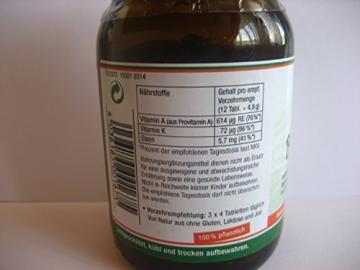 Sanatur Bio Spirulina 250 Tabletten, aus kbA -