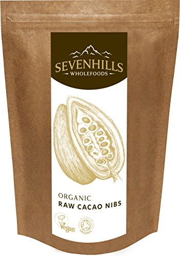 Sevenhills Wholefoods Roh Kakaonibs Bio 1kg -