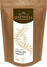 Sevenhills Wholefoods Spirulina-Tabletten Bio 2000 x 500mg, 1kg -