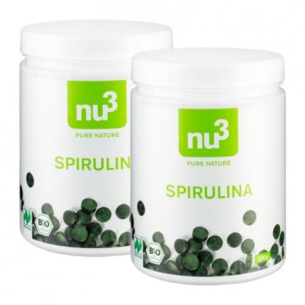nu3 Bio Spirulina Naturland (2 x 500 g)