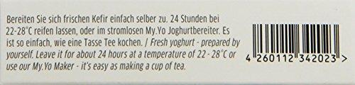 My.Yo Kefir Probiotisch, Kefirferment zur Kefirherstellung, 3 Beutel, Bio-Zertifiziert -