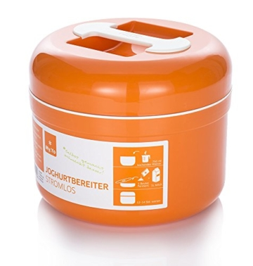 Stromloser Joghurtbereiter von My.Yo in Orange
