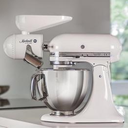 Getreidemühle für Kitchenaid Küchenmaschine - Mockmill mit Keramikmahlwerk