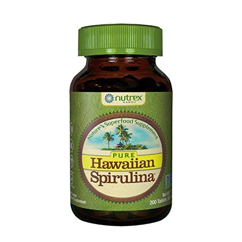 Hawaiian Spirulina Flasche